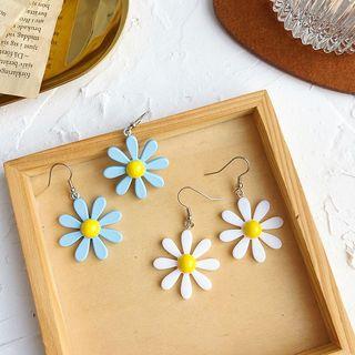 Admae - Plastic Daisy Drop Earring