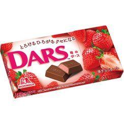 Morinaga - 森永Dars草莓白朱古力 43g