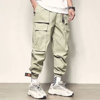 GRAYCIOUS - 工装哈伦裤