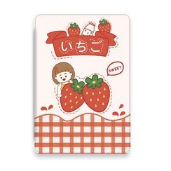 Roccia - Strawberry Print iPad Case