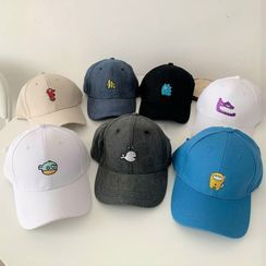 Lunashore - Embroidered Cartoon Baseball Cap