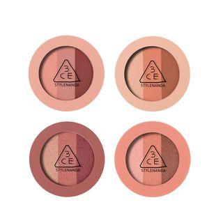3CE - Triple Shadow - 4 Colors