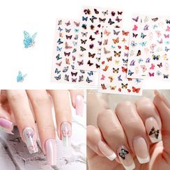 Monoe - Butterfly Nail Art Stickers