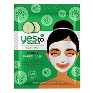 Yes To - Yes To Cucumbers: Calming Paper Mask (Single Pack)