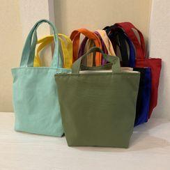 Cloud Forest - Plain Canvas Lunch Bag