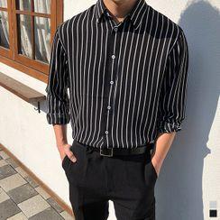 Seoul Homme - Striped Shirt