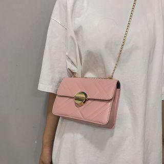 Bag Gang - Buckled Chain Shoulder Bag