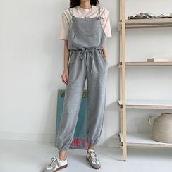 Envy Look - Drawstring-Waist Jumper Pants