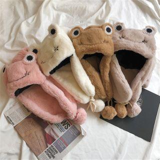 TAAK - Frog Fleece Trapper Hat