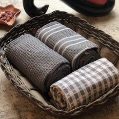 Rabenda - 条纹 / 格子 / 纯色茶巾