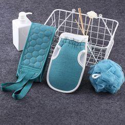 Feminin - 沐浴搓背刷 / 搓澡沐浴手套 / 淋浴球 / 套裝