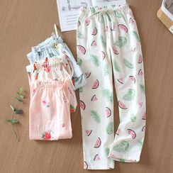 MelMount - Printed Pajama Pants