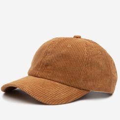 YYG - 纯色灯芯绒帽