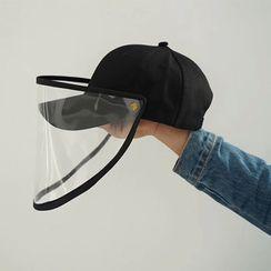 BACKNOW - Detachable Face Shield Baseball Cap