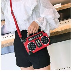 OLGALOG - Tape Recorder Crossbody Bag