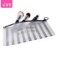 Acare - Travel Translucent PVC Makeup Pouch