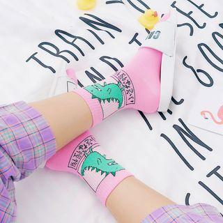 ASAIDA - Dinosaur Print Socks