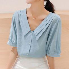 Rosehedge - V领短袖衬衫