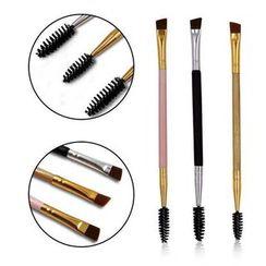 Ikebana - Dual Head Eyelashes Makeup Brush