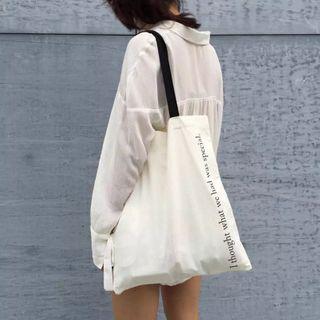 TangTangBags - 字母手提袋