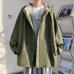 FOEV - Hooded Zip Jacket