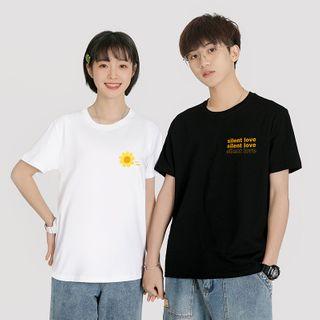 ATee Store - 情侶裝短袖印花T裇