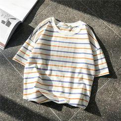 Soulcity - 條紋短袖T裇
