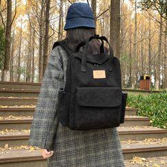 MUSIS - Top Handle Corduroy Backpack