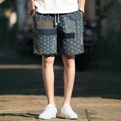 Aozora - Print Shorts