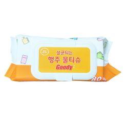 Hapi - Goody Antibacterial Wet Wipes (1 pack - 80pcs)