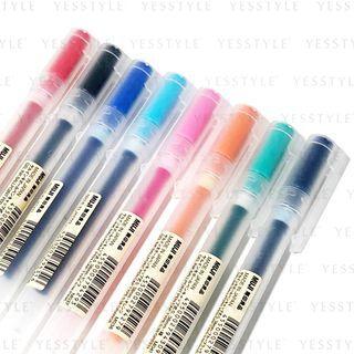 MUJI - PP Gel Ink Pen 0.38mm - 5 Types