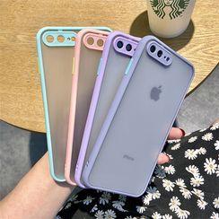 Casei Colour - 透明手機保護套 - iPhone 8p/7p, 8/7, 6sp/6p, 6s/6