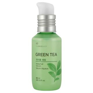 THE FACE SHOP - Baby Leaf Green Tea Waterfull Serum 60ml