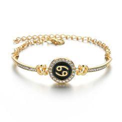 Terreau Kathy - Rhinestone Zodiac Bracelet