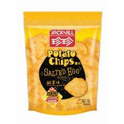 JACK'n JILL - Salted Egg Flavoured Shake and Roll Potato Chips 50g
