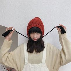 Combon - Knit Beanie with Ear Warmer