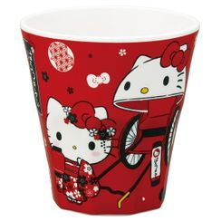 Skater - Hello Kitty Plastic Tumbler 270ml (Red)
