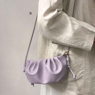Kazaram - Shirred Zip Crossbody Bag