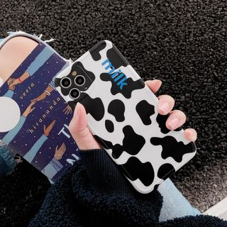 Wild Pony - Milk Cow Print Phone Case for iPhone 7 / 7 Plus / 8 / 8 Plus / X / XS / XR / XS Max / 11 /11 Pro / 11 Pro Max