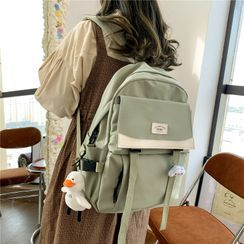 ZOOBAGS - Paneled Buckled Backpack