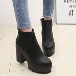 Artiz - 厚底粗跟短靴