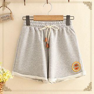 Kawaii Fairyland - Applique Sweat Shorts