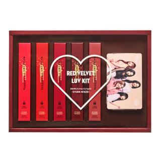 Etude House - Matte Chic Lacquer Red Velvet Love Kit