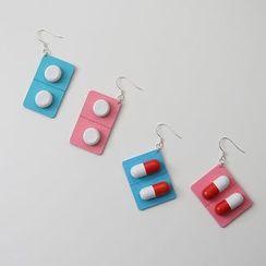Kokyu - Pill Drop Earring