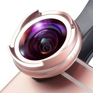 APEXEL - 2-in-1 Wide Angle & Macro Clip On Mobile Lens