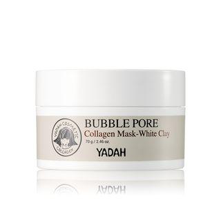 YADAH - Bubble Pore Collagen Mask - White Clay 70g