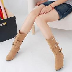 Shoes Galore - Heel Boots