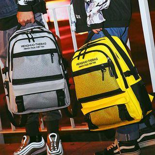 SUNMAN - Lettering Canvas Backpack
