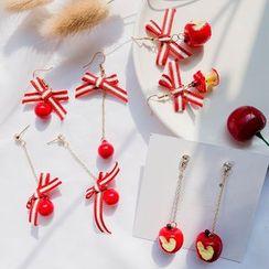 Jasminte - Christmas Bow Dangle Earring (various designs)
