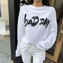 DABAGIRL - 'BAD DAY' Lettered T-Shirt